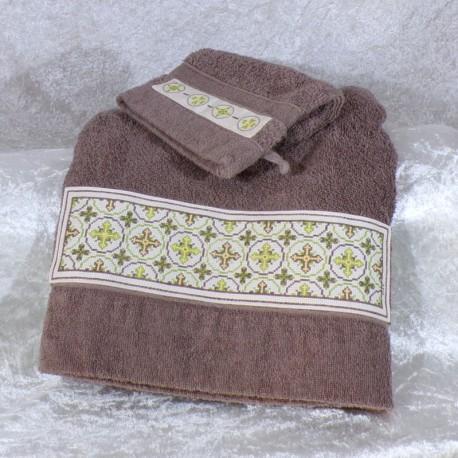 Serviette de bain Bourbon www.corinnebernardesboutique.com